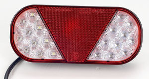 LED Lights 24V, Dump Truck LED Tail Light Lt113 pictures & photos