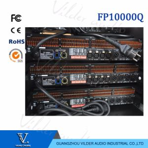 Fp10000q 1300W 4 Channel 8 Ohms Professional High Power Audio Amplifier