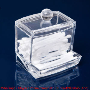 Hot Sale Eco-Friendly Acrylic Cotton Swab Box pictures & photos