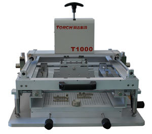 SMT Manual Stencil Printer / SMT PCB Screen Printer T1000 pictures & photos