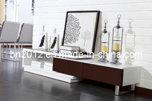 High Gloss TV Stand with Drawer (DS-116) pictures & photos