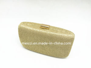 Ladies Clutch Bag Have Black, Gold, Silver Color and Fashion Evening Bag pictures & photos