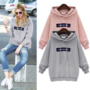 Manufacturer Personal Logo Printed Cute Casual Girl′s Hoodie pictures & photos