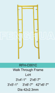 Walk Through Frame pictures & photos