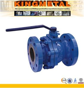 ANSI Flanged Floating Ball Valve pictures & photos
