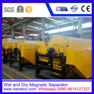 Wet or Dry Drum Magnetic Separator for Ores pictures & photos