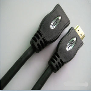 1.5m HDMI Male to Female Extension Cable pictures & photos