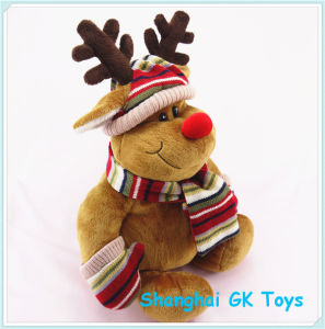 Plush Reindeer Christmas Reindeer Plush Animal Toys pictures & photos