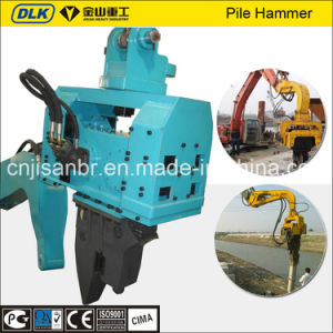 Hydraulic Vibratory Pile Driver in Construction Parts for 30-40tons Excavator pictures & photos