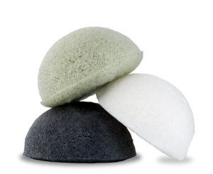 100% Natural Konjac Sponge Made From Glucomannan
