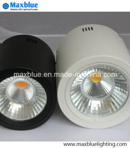 15W Black/White Dimmble Open Mount LED Downlight pictures & photos