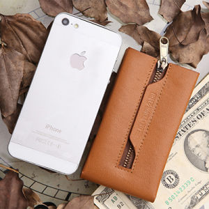 Customized Nappa Leather Key Holder for Business Gift (KKR-001) pictures & photos