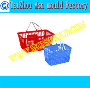 Plastic Injection Shipping Basket Supermarket Basket Mould pictures & photos