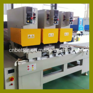 2015 CE Approved Three Head Seamless Welding Machine for PVC Window Door PVC Profile Seamless Welding Machine UPVC Window Machine pictures & photos