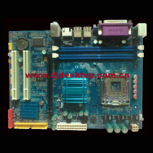 945-775 Motherboard for PC with 2*Ddrii 533/667/800 Memory pictures & photos