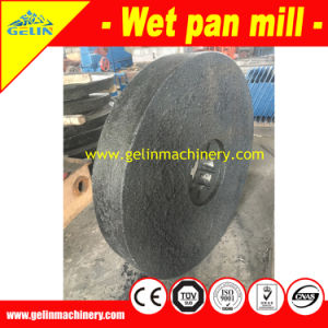 1200 Pan Grinding Mill for Separating Gold, Iron, Zinc, Lead Ore pictures & photos