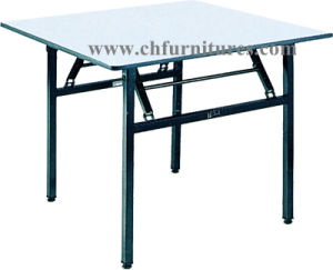 Durable Foldable Plywood Square Table (YC-T07) pictures & photos