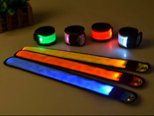 Flashing Outdoor Running LED Slap Bracelet