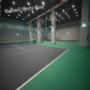High Quality PVC Sports Flooring Inroll for Tennis Indoor pictures & photos