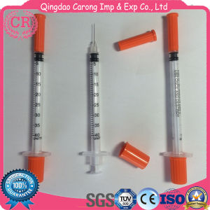 Disposable Insulin Syringe 1ml 0.5ml with Fixed Needle pictures & photos