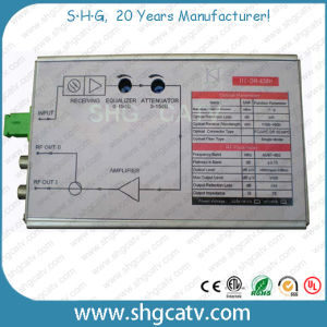 FTTH CATV Fiber Optical Receiver (OR-838H) pictures & photos