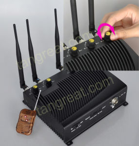 Adjustable Cellular Phone and WiFi Jammer, with Remote Control (TG-4CA) pictures & photos