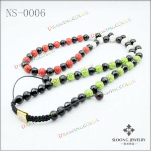 Shamballa Handmade Necklace (BS-0006)