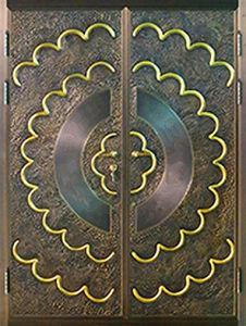 2016 New Design Villa Entrance Steel Door pictures & photos