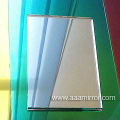 1.1mm-8mm Clear and Colorful Aluminum Mirror, Silver Mirror, Copper Free Mirror, Colored Mirror Glass, Vinyl Backed Safety Mirror for Building pictures & photos