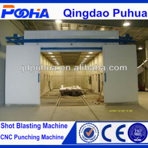 Sand Blasting Room/ Sand Blasting Booth/Sand Blasting Chamber pictures & photos