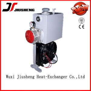 Aluminum Oil Cooler for Concrete Mixer with Pump (18L)