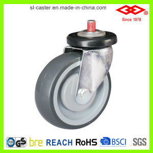 75mm Casters for Shopping Trolley (G140-34E075X25) pictures & photos