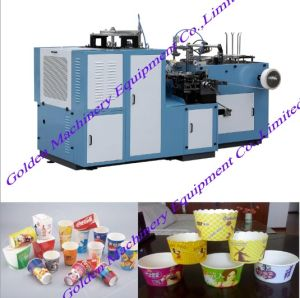 Multifunctional Automatic Food Paper Cup Making Forming Machine pictures & photos