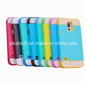 for Samsung Galaxy S5 Hybrid Hidden Credit Card Case pictures & photos