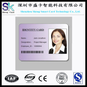 2015 Offset Printing PVC Smart ID Photo Card