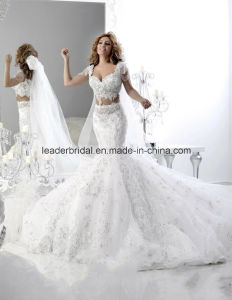 Arabic Dubai Bridal Gowns Lace Stones Wedding Dresses Z5040 pictures & photos