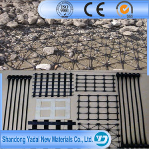 Road Construction Used Pet Uniaxial Geogrid Biaxial Geogrid pictures & photos