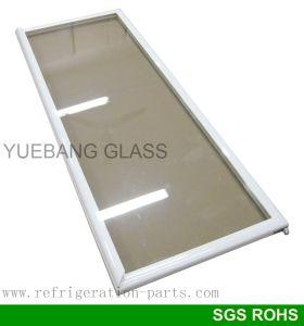 One Piece Handle Glass Door for Upright Freezer