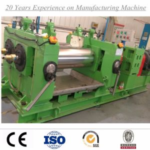 Rubber Sheet Making Machine with Double Shaft Driving Bearing Rolls pictures & photos