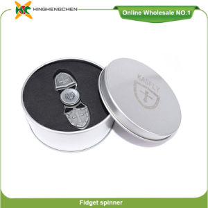 Promotional Product Hand Crazy Spinner Toys Fidget Spinner Aluminum Toy pictures & photos
