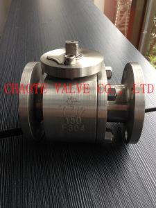 Forged Steel Floating Ball Valve (2 Piece Type)