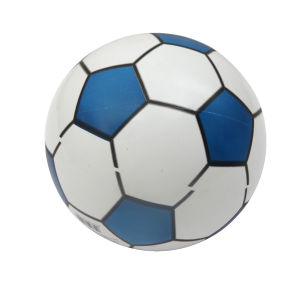 New Design Factory Sale PVC Inflatable Print Soft Soccer Ball