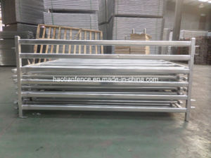 Galvanized 6 Bars Steel Sheep Panels pictures & photos