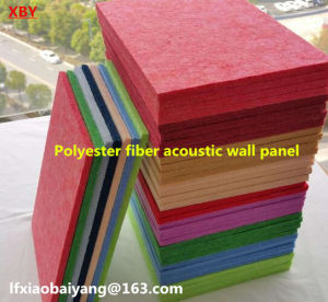 Wall Panel Acoustic Panel Polyester Fiber Panel Detective Panel Ceiling Panel pictures & photos