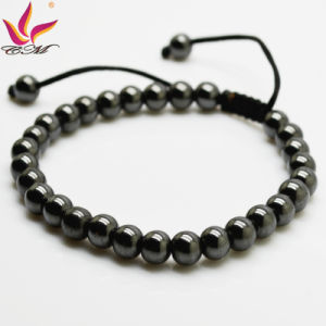 Htb014A Wholesale New Summer Fashion Girl′s Jewelry Black Color Strong Magnetic Hematite pictures & photos