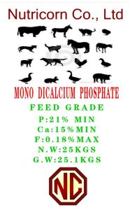 Pig Feed Additive Monocalcium Phosphate Mcp pictures & photos