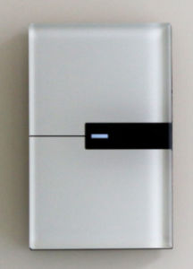 Tempered Glass 1-Gang Remote Touch Us Au Light Electrical Switch with LED Indicator 1504081-1