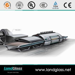 Landglass Forced Convection Tempered Glass Making Machine pictures & photos