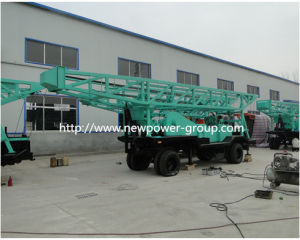 Trailer Mounted Water Well Drill Rig (BZT-600)