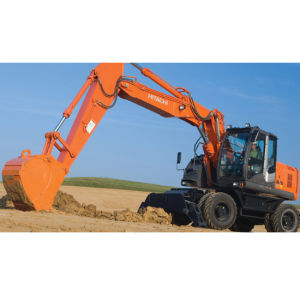 Small Scale Mini Hydraulic Wheeled Excavators